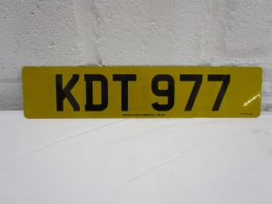 KDT977-pre-suffix-number-plate