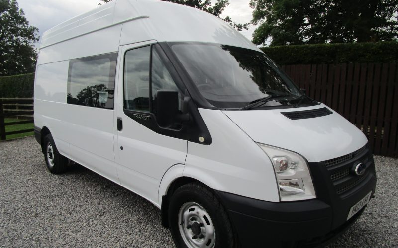 Ford Transit 350 125ps 6 Speed Gearbox Welfare Van with Toilet