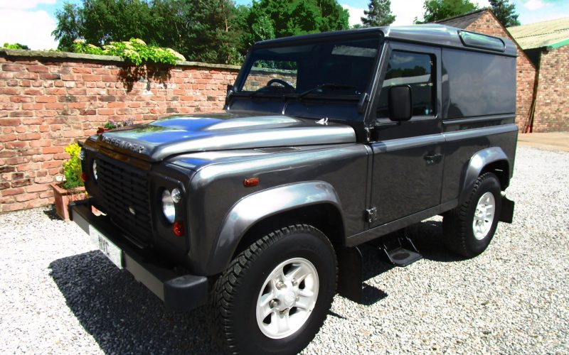 Landrover Defender 90 Hard Top E Pack in Corris Grey