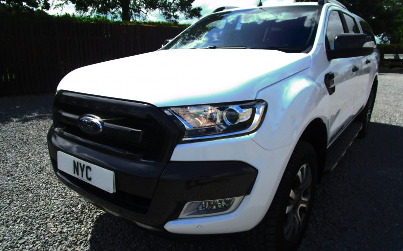 Ford Ranger Wildtrak 4×4 Double Cab TDCi Pick Up with Truckman Top