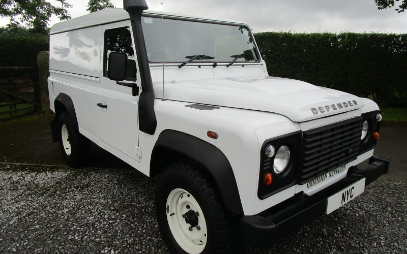 Land Rover Defender 110 Hard Top 4×4 Utility – Excellent Condition