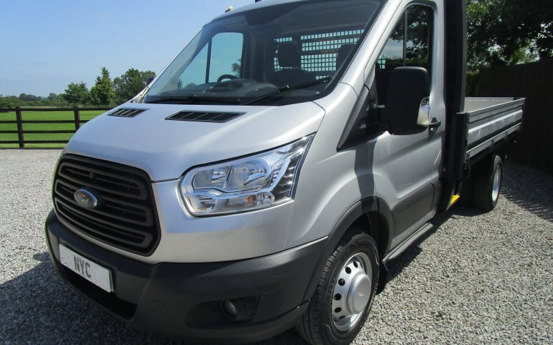 """Ford Transit 350 """"One Stop"""" 125ps 6 Speed Truck in Silver"""