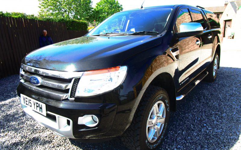 Ford Ranger Limited 4×4 TDCi 3198cc 2015 Pick Up with Hard Top in Black