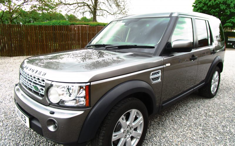 Land Rover Discovery 4 SDV6 Auto 245 4×4 Commercial in Corris Grey