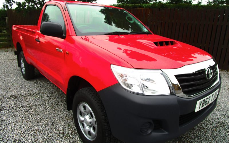 Toyota Hi Lux HL2 4×4 Single Cab Pick Up with only 5,464 miles from NEW
