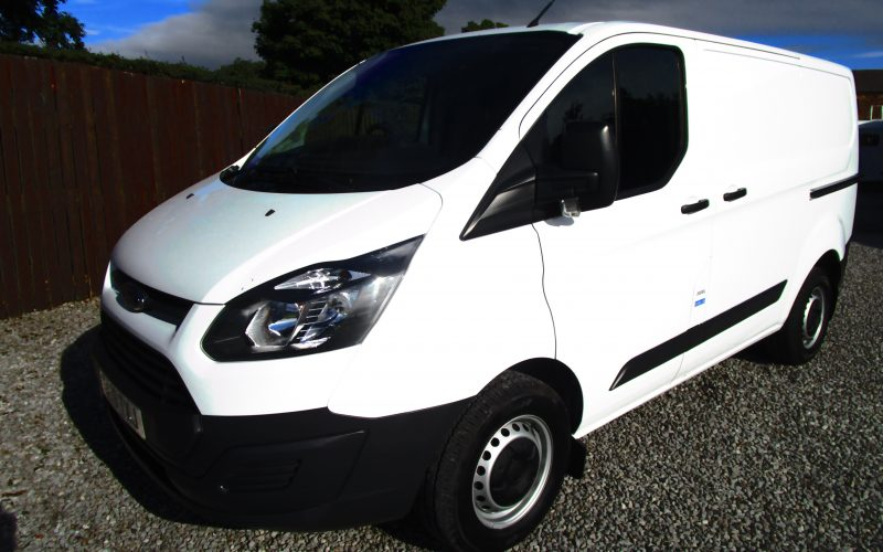 Ford Transit 290 Custom Van Euro 6 in White