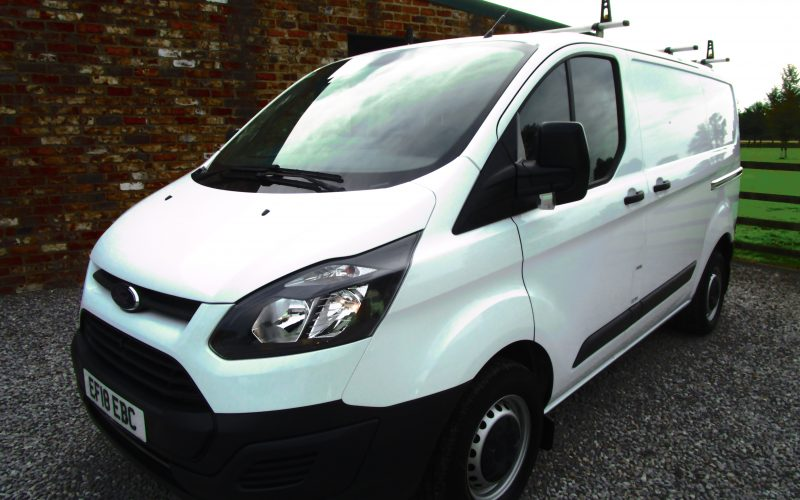 Ford Transit 290 Custom Van Euro 6 105ps 6 Speed – Low Mileage