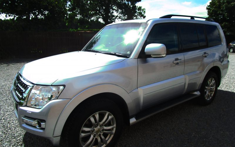 Mitsubishi Shogun 3.2 Di DC LWB SG2 Van with Manual Gearbox in Silver