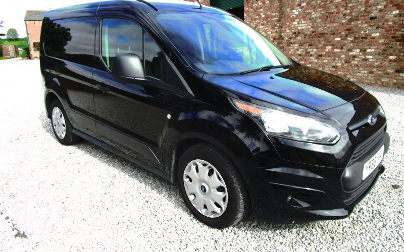Ford Transit Connect 200 120ps Trend Van in Black