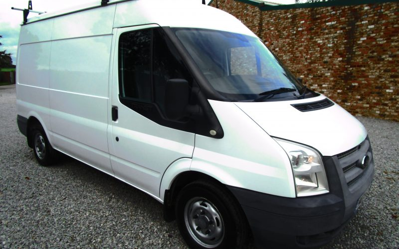 Ford Transit 280 MWB 100ps 6 Speed Gearbox Van in White